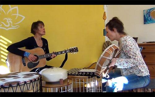 Mantra singen mit Hasya Esther Gleede